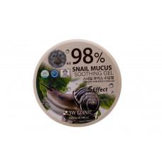 [3W CLINIC] Гель универсальный УЛИТОЧНЫЙ МУЦИН Snail Soothing Gel 98%, 300 мл