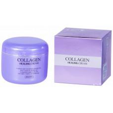 [JIGOTT] Питательный ночной крем с коллагеном Collagen Healing Cream, 100 гр