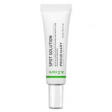 [Proud Mary] Точечное средство от воспалений для чувствительной кожи A.C Cure Spot Solution, 12 мл