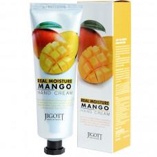 [JIGOTT] Увлажняющий крем для рук с экстрактом манго REAL MOISTURE MANGO HAND CREAM, 100 мл.