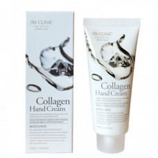 [3W CLINIC] Крем д/рук увлажняющий с КОЛЛАГЕНОМ Collagen Hand Cream, 100 мл