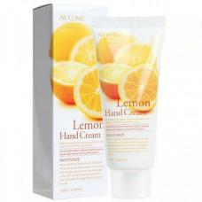 [3W CLINIC] Крем д/рук увлажняющий с экстрактом ЛИМОНА Lemon Hand Cream, 100 мл