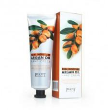 [JIGOTT] Увлажняющий крем для рук с Аргановым маслом REAL MOISTURE HAND CREAM Argan, 100 мл.