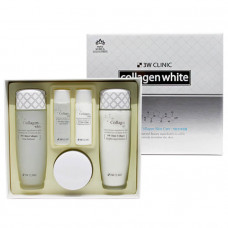 [3W CLINIC] ОСВЕТЛЕНИЕ Набор д/ухода за лицом Collagen Whitening Skin Care Items 3 Set