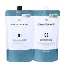 [La'dor] Стайлинг программа для поврежденных волос Aura Volume Magic Damaged, 01+02 по 500 мл