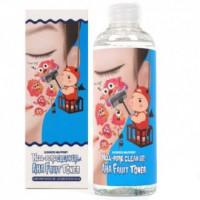 [Elizavecca] Тонер-пилинг с фруктовыми кислотами Hell-Pore Clean Up Aha Fruit Toner, 200 мл