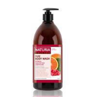 [NATURIA] Гель для душа КЛЮКВА/АПЕЛЬСИН PURE BODY WASH (Cranberry & Orange), 750 мл