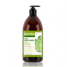 [NATURIA] Гель для душа МЯТА/ЛАЙМ PURE BODY WASH (Wild Mint & Lime), 750 мл