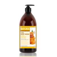 [NATURIA] Гель для душа МЕД/ЛИЛИЯ PURE BODY WASH (Honey & White Lily), 750 мл