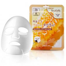 [3W CLINIC] Тканевая маска для лица МАТОЧНОЕ МОЛОЧКО Fresh Royal Jelly Mask Sheet