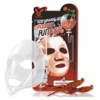 [Elizavecca] Ткан. маска д/лица с Красн. Женьш. RED gInseng DEEP PQWER Ringer mask pack