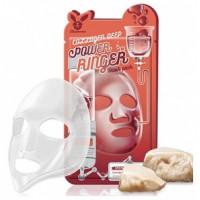 [Elizavecca] Тканевая маска для лица с Коллагеном COLLAGEN DEEP POWER Ringer mask pack