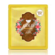 [KOELF] Маска д/лица гидрогел. с золотом и маточным молочком GOLD & ROYAL JELLY MASK