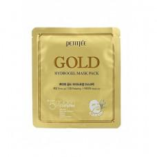 [PETITFEE] Маска д/лица гидрогел. c ЗОЛОТОМ Gold Hydrogel Mask Pack