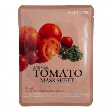 [Baroness] Тканевая маска с экстрактом томата Airlaid Face Mask TOMATO, 21 гр