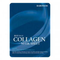 [Baroness] Тканевая маска с коллагеном Airlaid Face Mask COLLAGEN, 21 гр