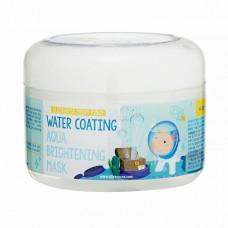 [Elizavecca] Маска д/лица ночная УВЛАЖНЕНИЕ Water Coating Aqua Brightening Mask, 100 мл