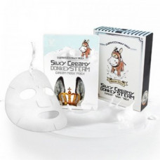 [Elizavecca] Маска ткан. с паров. крем. ОСЛИНОЕ МОЛОКО Silky Creamy donkey Steam Cream