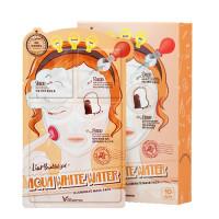 [Elizavecca] Маска трехэтап. УВЛАЖНЯЮЩАЯ 3-step Aqua White Water Illuminate Mask Sheet