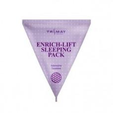 [Trimay] Ночная маска для повышения эластичности Enrich-Lift Sleeping pack (Сиреневый) 3 гр.