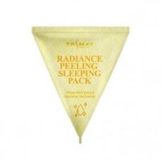 [Trimay] Отшелушивающая ночная маска Radiance Peeling Sleeping pack (Желтый) 3 гр.