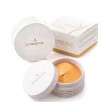 [BeauuGreen] Гидрогелевые патчи для глаз c коллагеном и коллоидным золотом Collagen & Gold Hydrogel