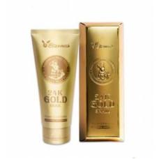 [Elizavecca] Пенка для умывания МУЦИН УЛИТКИ И ЗОЛОТО 24K Gold Snail Cleansing Foam, 180 мл