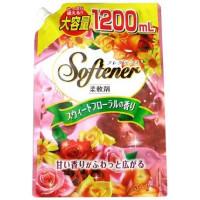 """""""Nihon Detergent"""" """"Sweet Floral"""" Кондиционер для белья со сладким цветочным ароматом 1200 мл"""