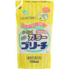 """""""Mitsuei"""" Кислородный отбеливатель для цветных вещей (мягкая экономичная упаковка) 0.72 л"""
