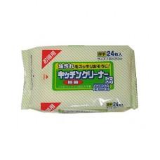 """Showa Siko"" ""Kitchen cleaner"" Влажные салфетки д/удаления жировых загр. на кухне 24шт 160мм х 250мм"