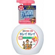 """""""Lion"""" """"KireiKirei"""" Пенное мыло для рук с ароматом фруктов (помпа), 250 мл"""