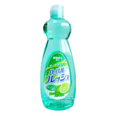 """""""Mitsuei"""" Средство для мытья посуды, овощей и фруктов с ароматом лайма 0.6 л"""
