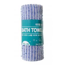 [Tamina] Мочалка д/душа оригинальной вязке из гофрированного волокна, Easy-Well Shower Towel TS-28