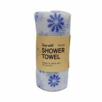 [Tamina] Мочалка д/душа оригинальной вязке из гофрированного волокна, Easy-Well TS-30 Shower Towel