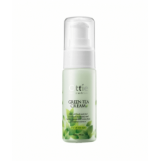 [OTTIE] Защитный крем для лица с зеленым чаем, Green Tea Cream, 40 мл.