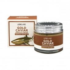 [LEBELAGE] Ампульный крем для лица с экстрактом икры, Gold Caviar Ampule Cream, 70 мл.
