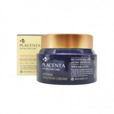 [Bonibelle] Омолаживающий крем с плацентой, Placenta Intense Solution Cream