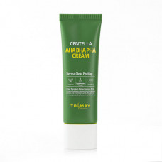[Trimay] Крем с кислотами и центеллой, Aha Bha Pha Centella Cream, 50 гр.