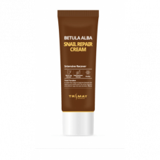 [Trimay] Крем с муцином улитки и березовым соком, Snail Repair Betula Alba Cream, 50 гр.