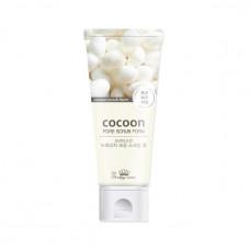 [Pretty Skin] Скраб с коконом шелкопряда, Cocoon Pore Scrub Foam, 150 мл.