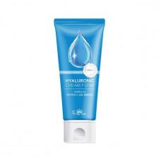 [Pretty Skin] Очищающая крем-пенка с гиалуроновой кислотой, HYALURONIC CREAM FOАM, 150 мл.