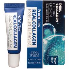 [FarmStay] Бальзам для губ с коллагеном Real Collagen Essential Lip Balm 10 мл.