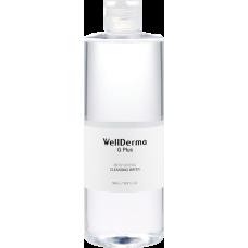 [WELLDERMA] Жидкость для снятия макияжа, G Plus Moisturizing Cleansing Water, 100 мл.