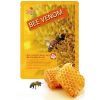 [May Island] Тканевая маска для лица с ПЧЕЛИНЫМ ЯДОМ. Real Essense Bee Venom Mask Pack