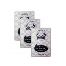 [Baroness] Осветляющая тканевая маска с киви и алоэ, Animal Mask Panda, 23 гр.