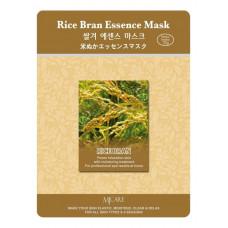 [MIJIN COSMETICS] Тканевая маска с экстрактом рисовых отрубей, Rice Bran Essence Mask