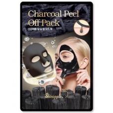 [SkinApple] Mаска-плёнка (угольная) для лица, charcoal peel off pack, 10 гр.