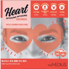 [MEDIUS] Гидрогелевые патчи для глаз ОЧКИ, Heart PPYOUNG PPYOUNG Eye patch, 5,5 гр.