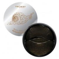 [Trimay] Патчи д/век с муц. черной улитки и золотом, Black Snail Gold Nutrition Eye Patch, 60 шт.