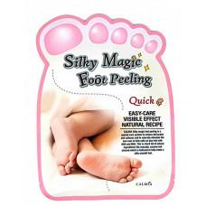 "[Calmia] Пилинг носочки для идеального отшелушивания кожи ног, Silky Magic Foot Peeling ""Quick Type"""